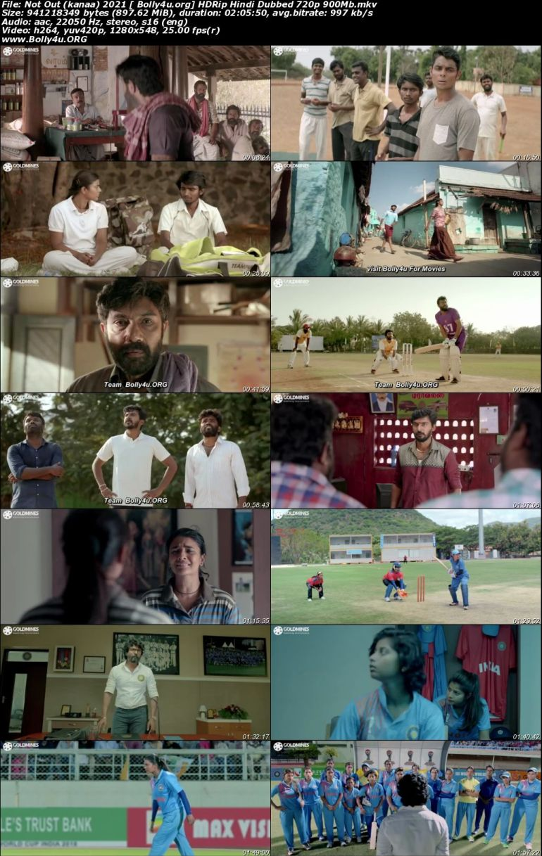 Not Out 2021 HDRip 900Mb Hindi Dubbed 720p Download