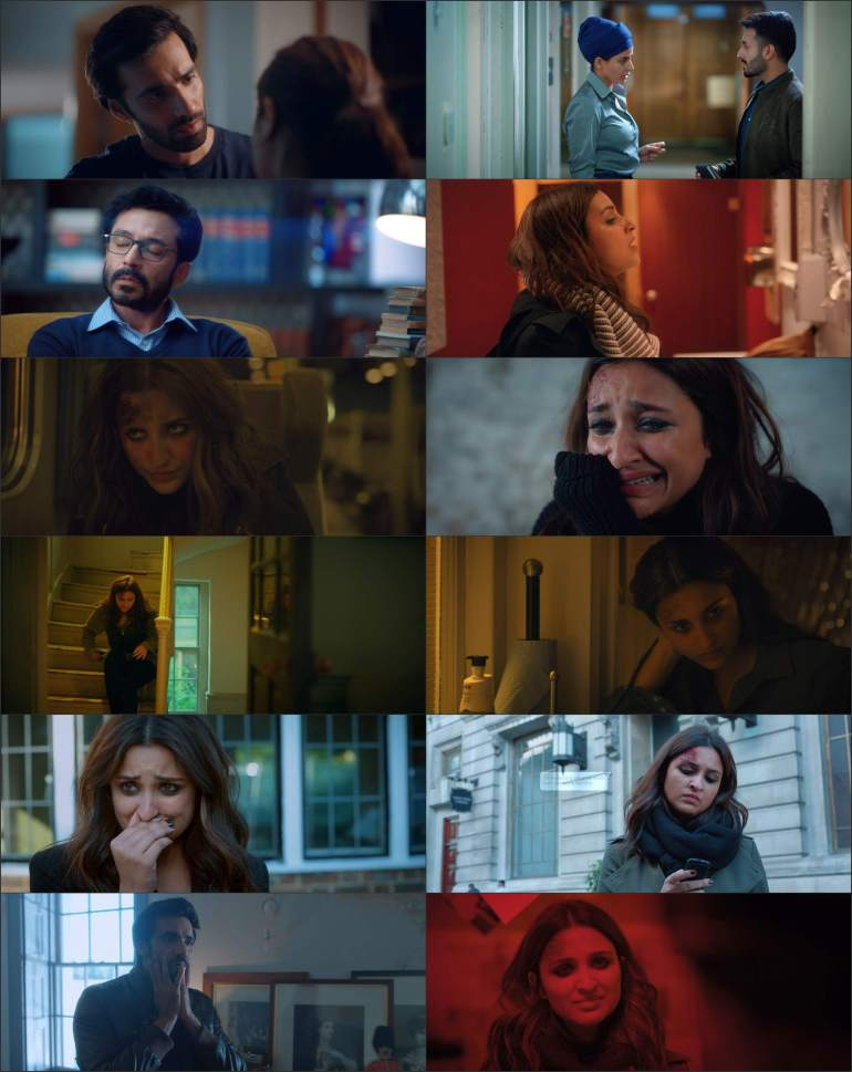 The Girl on The Train 2021 WEBRip 350Mb Hindi Movie Download 480p