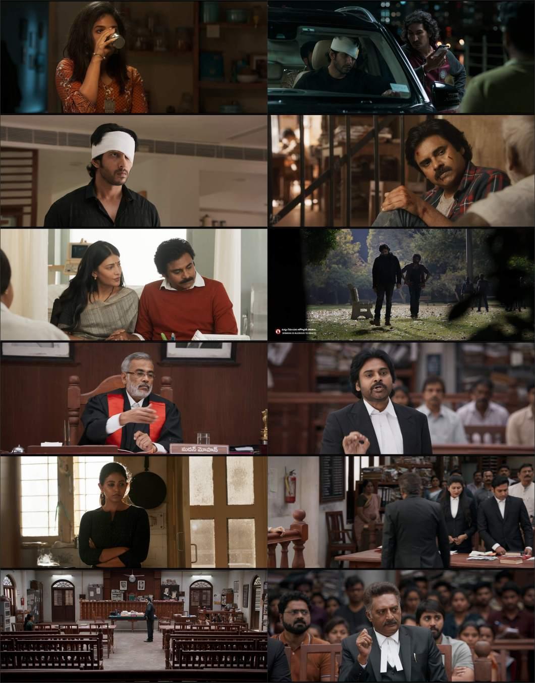 Download Vakeel Saab (2021) Hindi Dubbed Movie WEB - DL