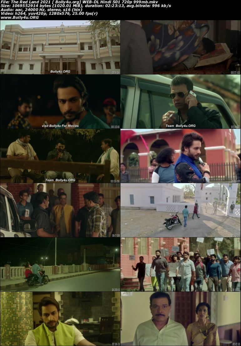 The Red Land 2021 WEB-DL 450MB Hindi S01 Download 480p