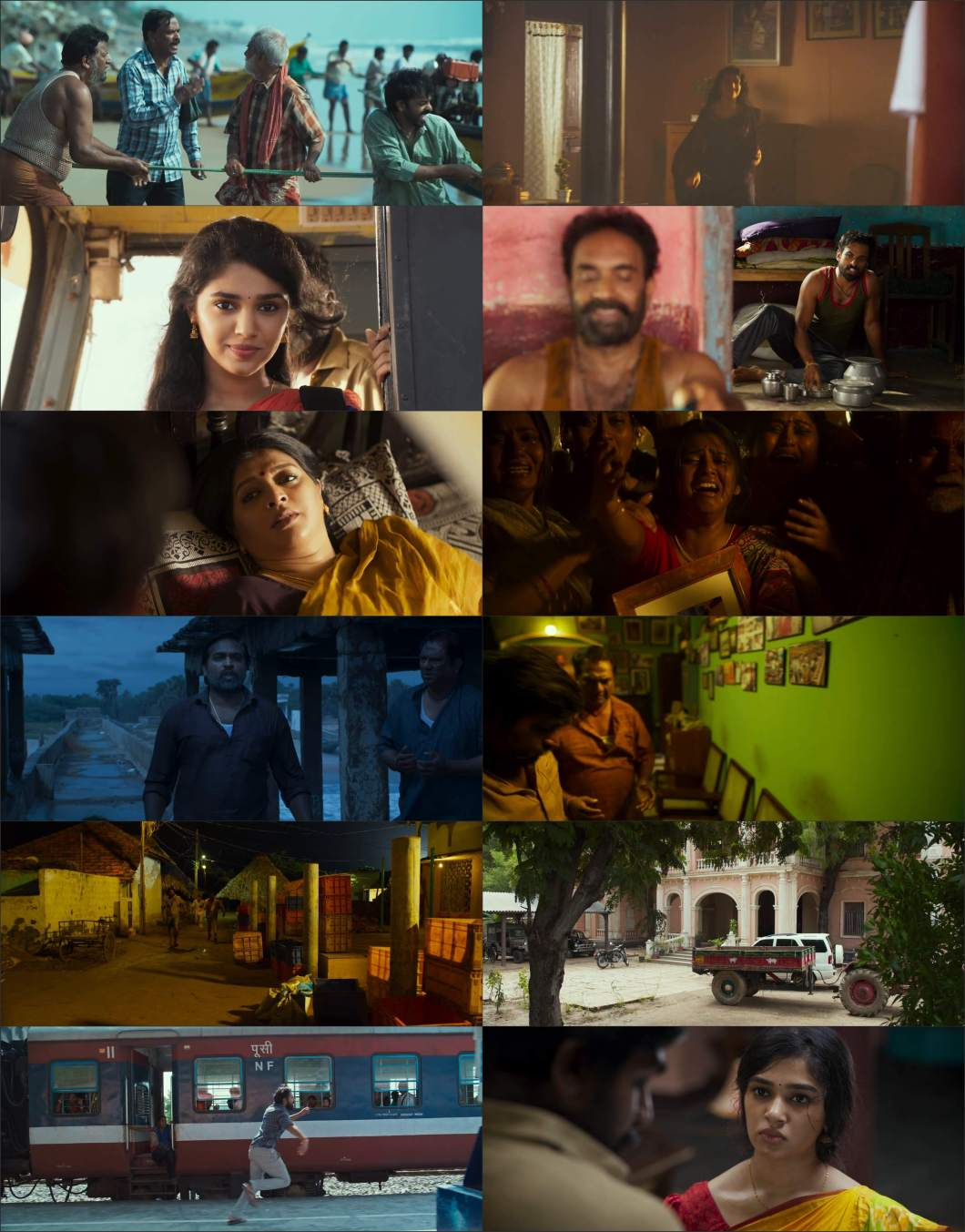 Download Uppena (2021) Hindi Unofficial Dubbed Movie WEB - DL