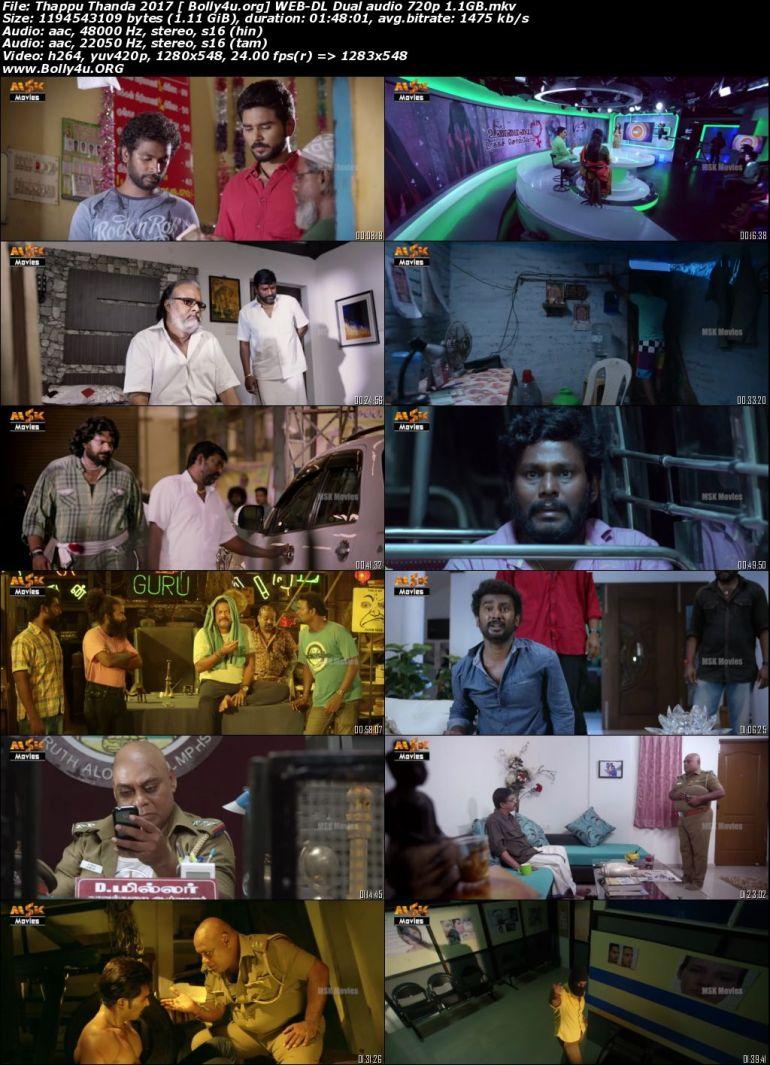 Thappu Thanda 2017 WEB-DL 350Mb Hindi Dual Audio 480p Download