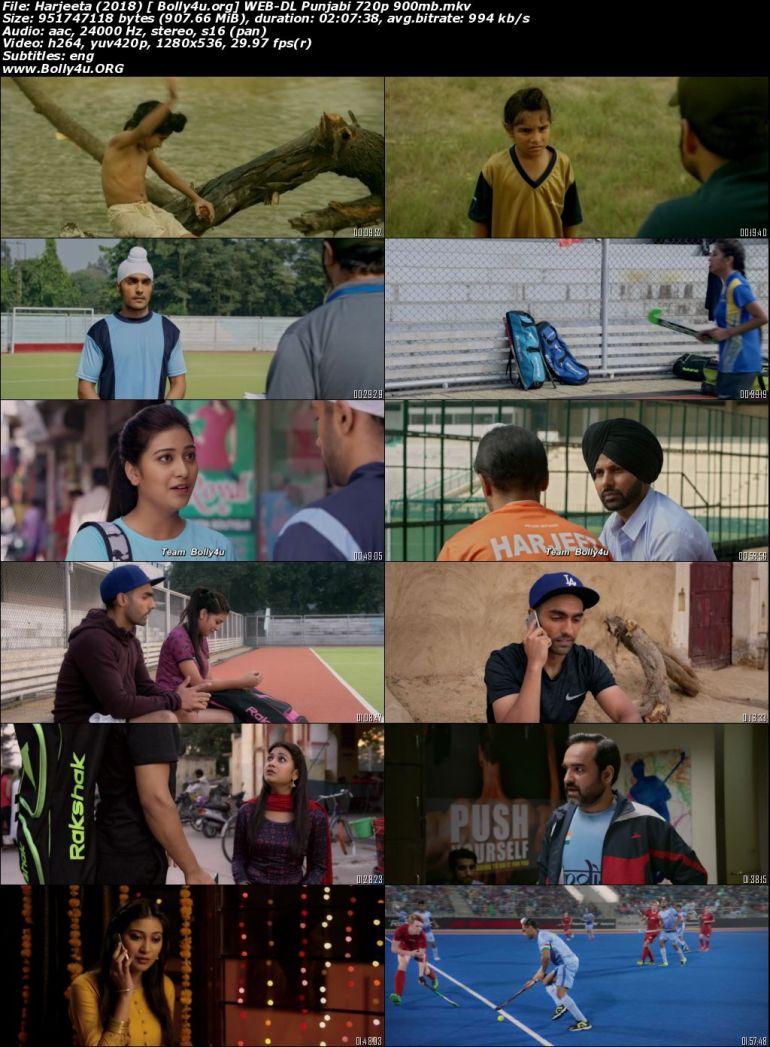 Harjeeta 2018 WEB-DL 900Mb Punjabi Movie Download 720p