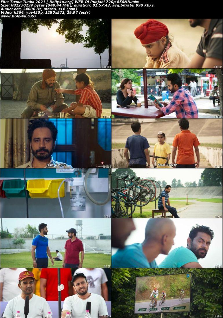 Tunka Tunka 2021 WEB-DL 400Mb Punjabi Movie Download 480p