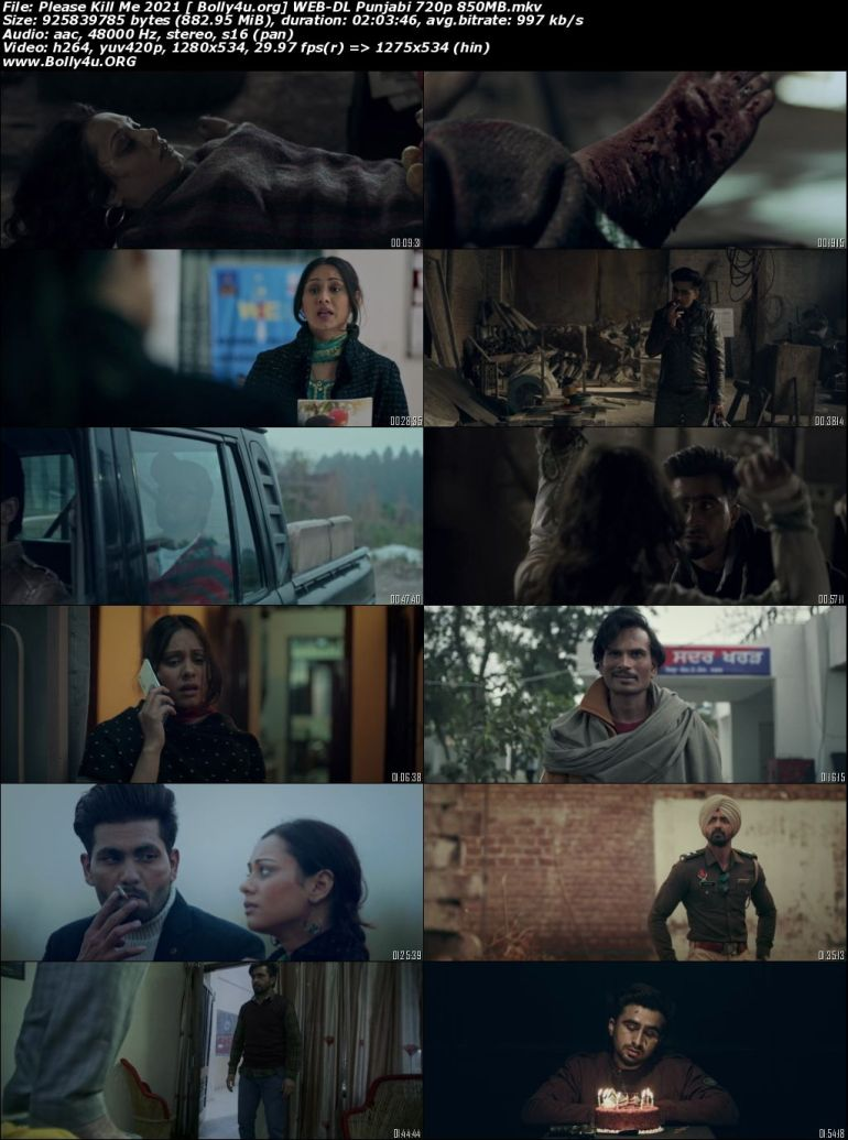 Please Kill Me 2021 WEB-DL 850Mb Punjabi Movie Download 720p