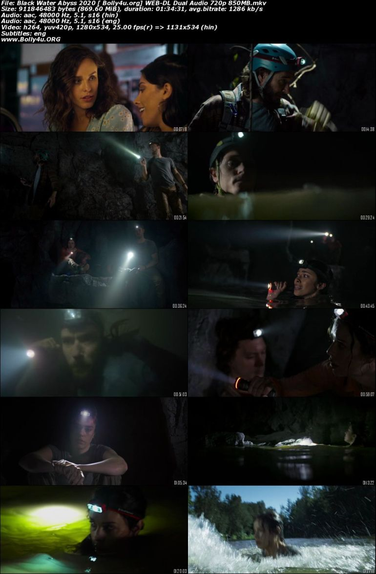 Black Water Abyss 2020 WEB-DL 850MB Hindi Dual Audio ORG 720p Download
