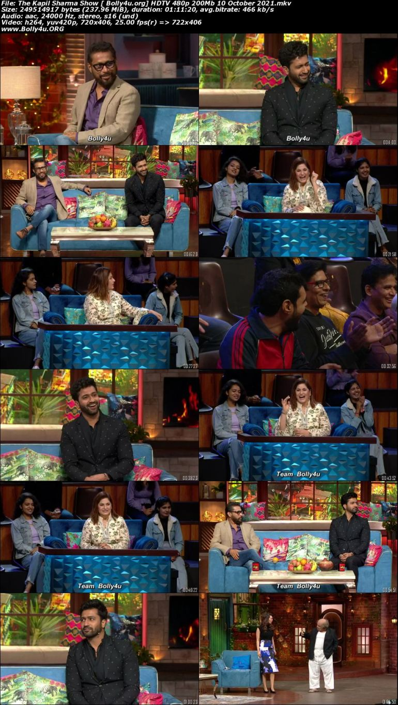 The Kapil Sharma Show HDTV 480p 200Mb 10 October 2021 Download