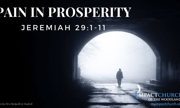 Pain in Prosperity
