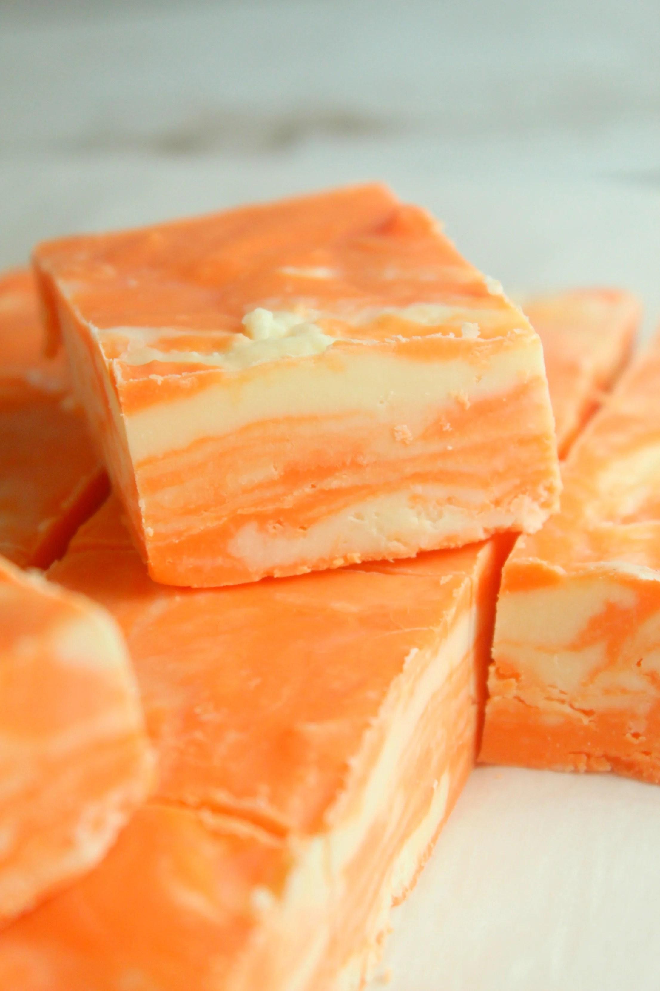no bake orange creamsicle
