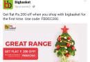 BigBasket Discount Coupon Code