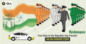Free Ola Cabs Ride Republic Day