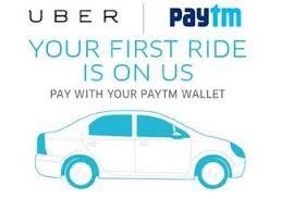 Uber Paytm Wallet offer