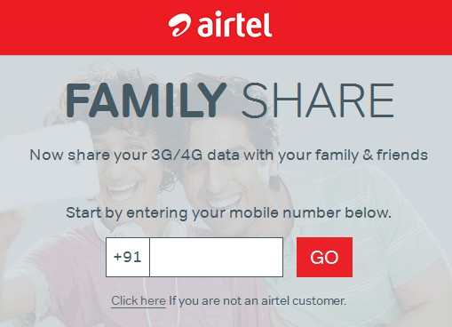 Airtel Data Share