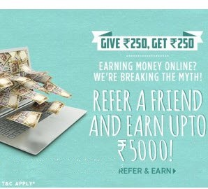 Jabong Refer Earn