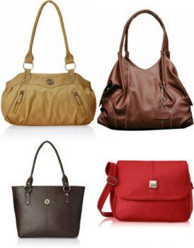 Flipkart Fostelo Bags    Buy Branded Leather Women Hand Bags Upto ... d842f86670