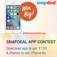 Snapdeal First Purchase Offer