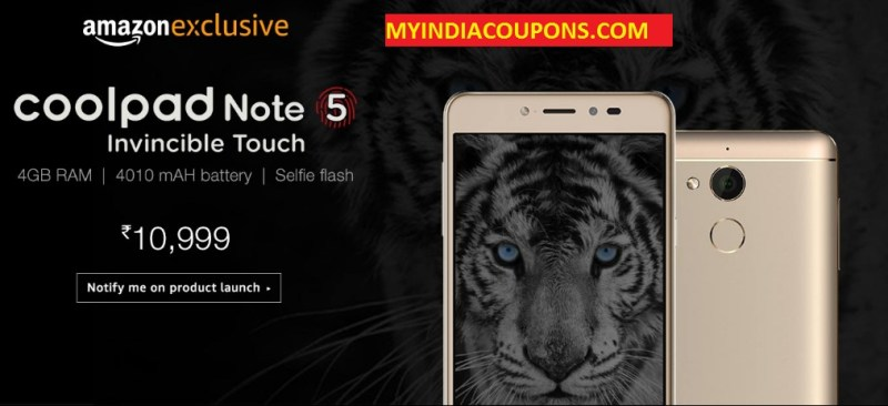 Micromax CoolPad Note 5