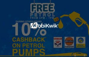 Mobikwik Petrol Fuel Offer