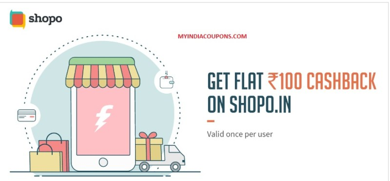 Shopo Freecharge Offer