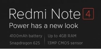Buy Xiaomi Redmi NOTE 4