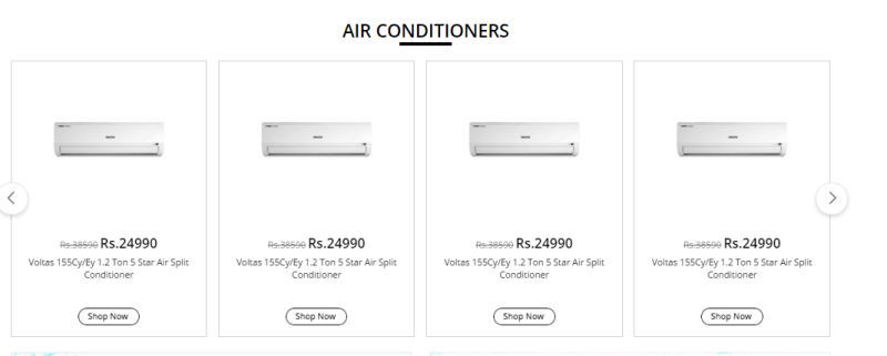 Shopclues Air Conditioner Offers
