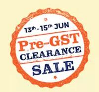 PaytmMall Pre GST Clearance Sale