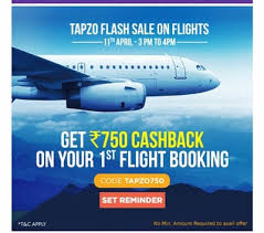 Tapzo Flights Offers