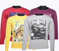 MyVishal Fashion Pack of 4 T-Shirt