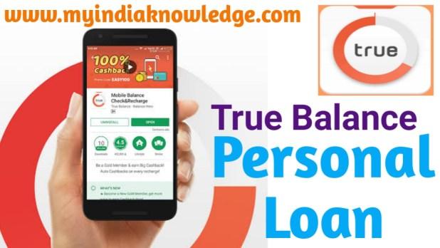 True Balance Loan