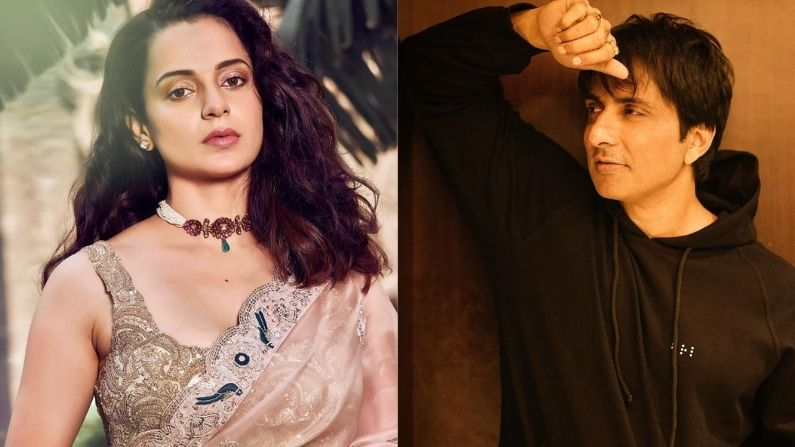 Is Kangana jealous of Sonu Sood's growing popularity, support of actor's trollers