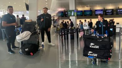 Photo of New zealand arrived for 2 Tests and WTC against England