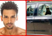 Photo of Yeh Hai Chahatein fame actor Khushank Arora's car was stolen in broad daylight, the actor's laptop was looted by breaking the car's glass