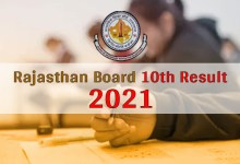 Photo of RBSE 10th Result 2021 Declared: Rajasthan Board Matric Result Released, Check Here in One Click