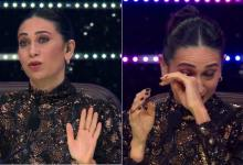 Photo of Super Dancer Chapter 4: Karishma Kapoor replaced Shilpa Shetty in the show, tears welled up after watching the performance