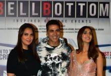 Photo of Bell Bottom Trailer Launch Photos: The entire team of 'Bell Bottom' including Akshay Kumar rocked the trailer launch
