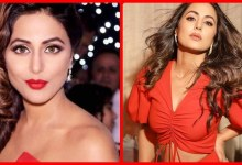 Photo of Photos: Hina Khan stunned on social media wearing a red dress, the senses will fly away after seeing the photos