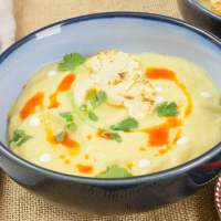 Easy Curried Cauliflower Soup