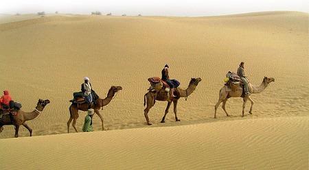 """""""En qué Consiste el Camel Safari en los Desiertos de India"""""""