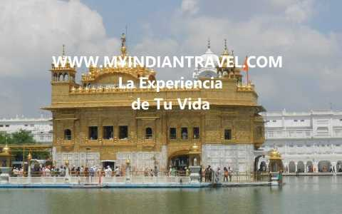 """Golden Temple en Amritsar"""