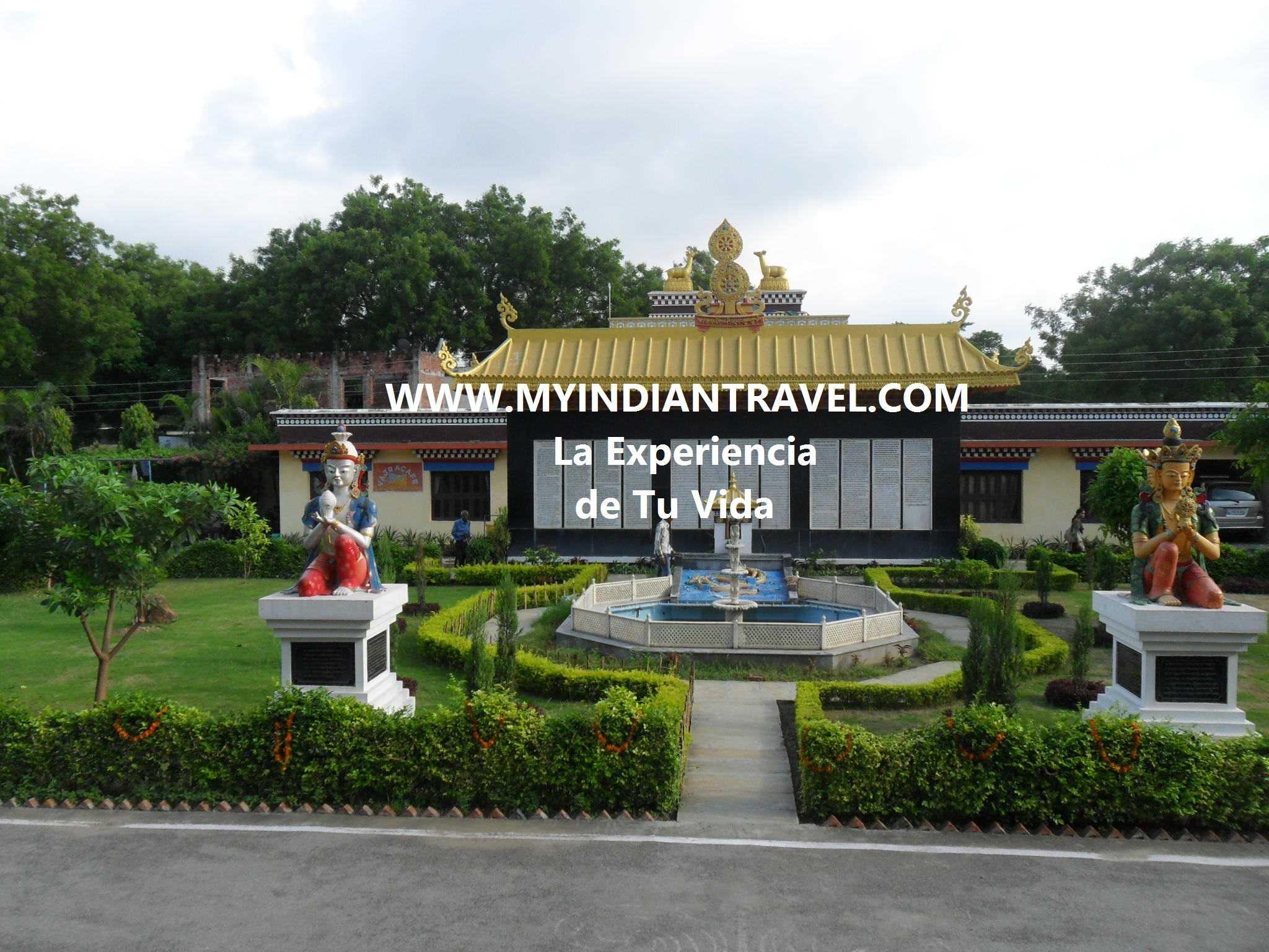 """Templo Budista Sarnath en Varanasi"""