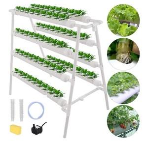 DreamJoy 4 Layers 72 Plant Sites Hydroponic Site Grow Kit