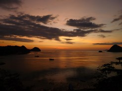 The ubiquitous sunset shot (from Paradise Bar, Labuanbajo)