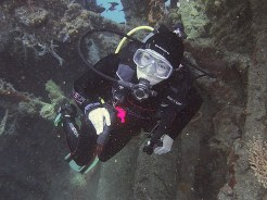 Wreck diving at Tulamben