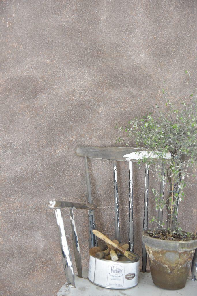In 2 stappen een betonlook muur  My Industrial Interior