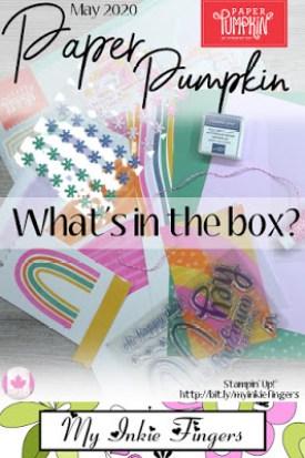 May 2020 Paper Pumpkin Unboxing
