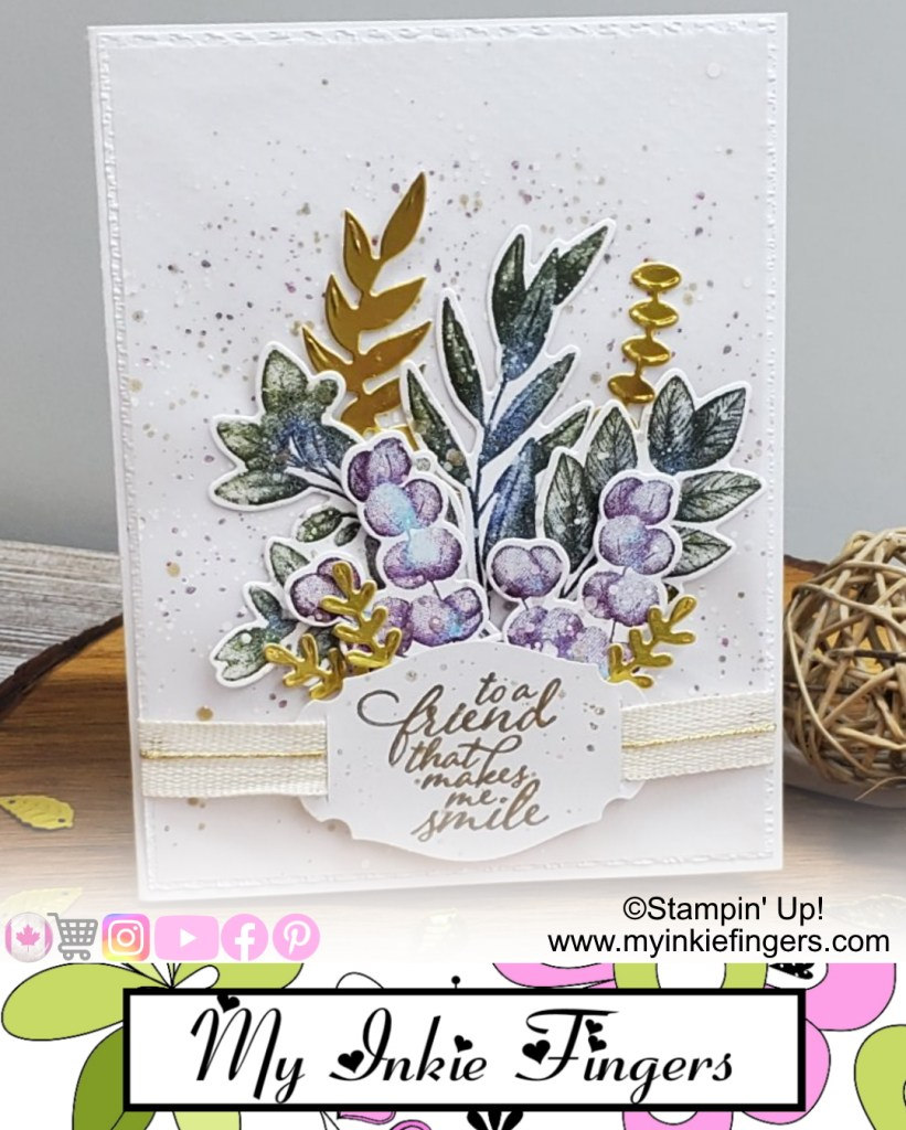 Learn to blend on stamps with the Forever Fern Stamp Set