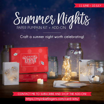 July 2020 Paper Pumpkin - Summer Nights - Stampin' Up!