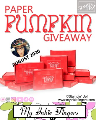Paper Pumpkin Subscription by Stampin' Up! GIVEAWAY