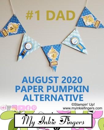 Paper Banner Tutorial | August 2020 Paper Pumpkin Alternative