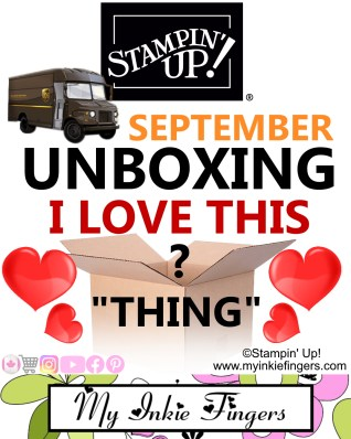 September 2020 Crafty Things | Stampin Up Haul